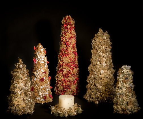 Salzburg Creations - Vintage Classic, Velvet Botanical, and Mixed Metal Fireworks Collections